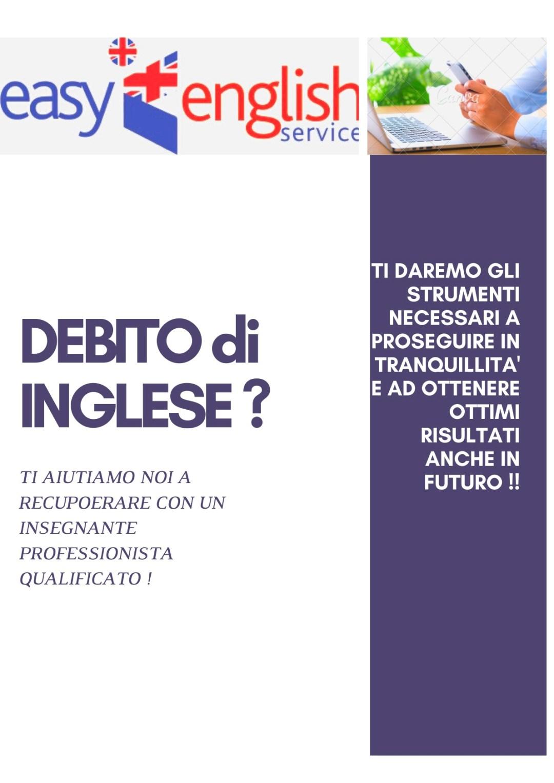 DEBITO di INGLESE _