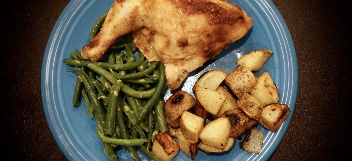 Oven Roasted Chicken Leg Quarters