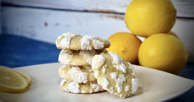 Lemon Cloud Cookies