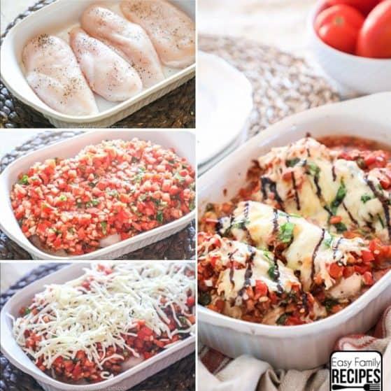 Bruschetta Chicken recipe step by step