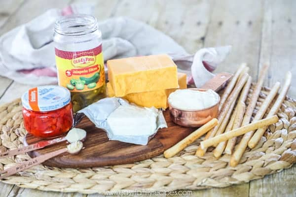 Jalapeno Pimento Cheese Ingredients