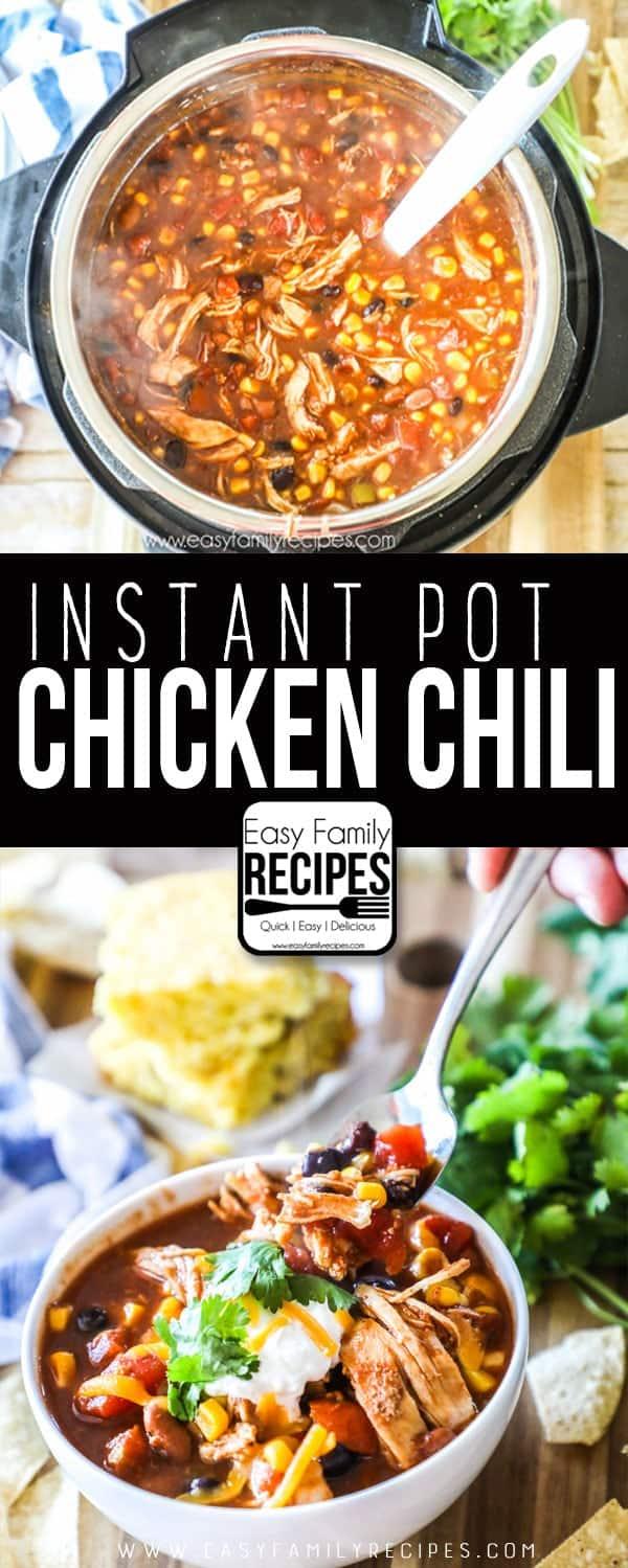 Pressure Cooker Chicken Chili