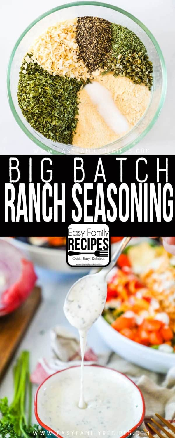 The BEST Homemade Ranch Seasoning