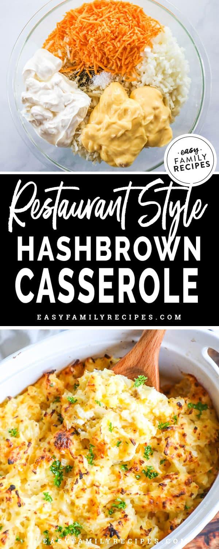 Hashbrown Casserole Ingredients