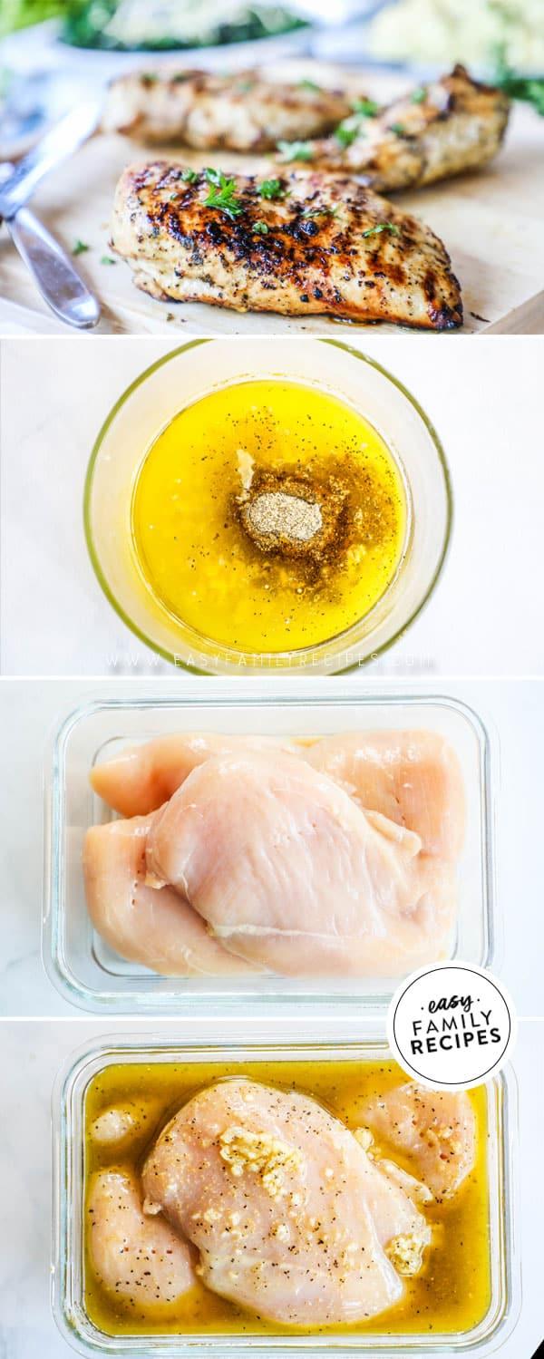 Steps to make Greek Chicken Marinade