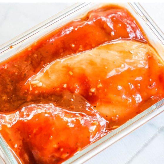 Recipe for BBQ Chicken Marinade.