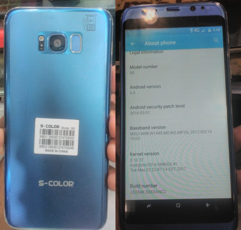 S Color S8 Flash File Firmware Download | EasyFlashFile