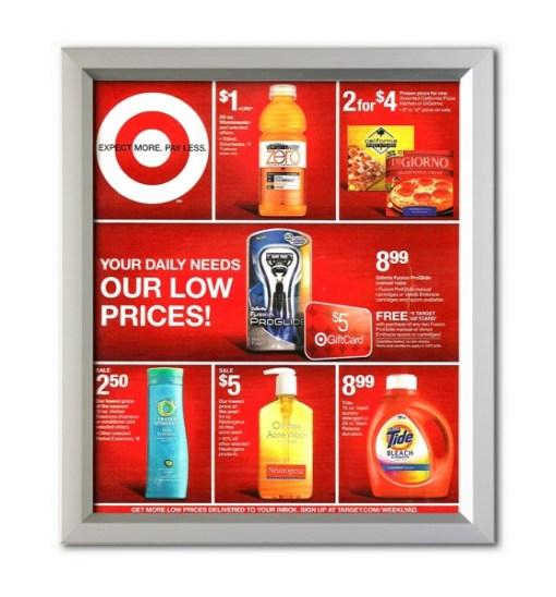 Easy Slide in Frames, School Poster Frames, Corporate Sign Frames, Advertising Poster Frames