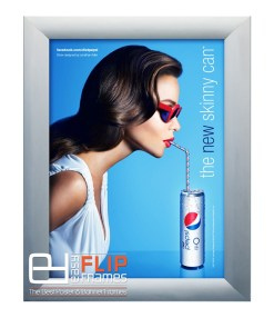 Banner Advertising Frame, aluminum display frame, vynil banner hanging frame, Canvas Display Frame
