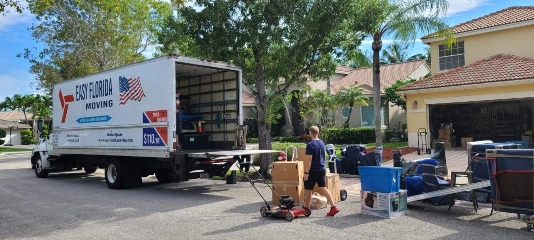 Easy Florida Moving Loading Truck