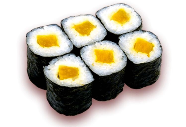 oshinko rolls and oshinko maki