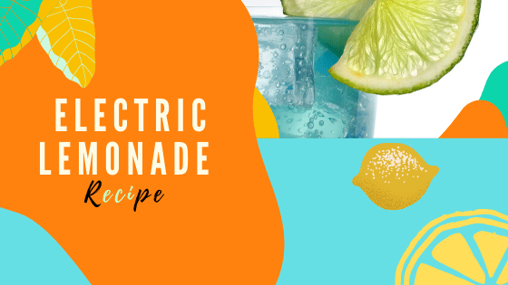 Asian Cabbage Salad & Electric Lemonade Recipe