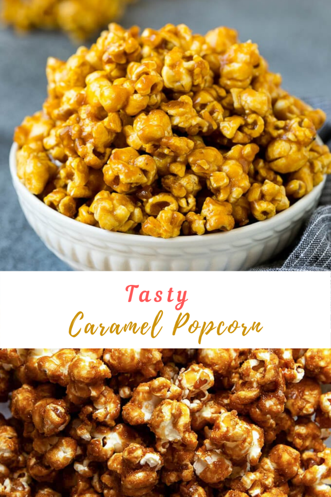 Caramel Popcorn | Easy Food Cooking Recipes