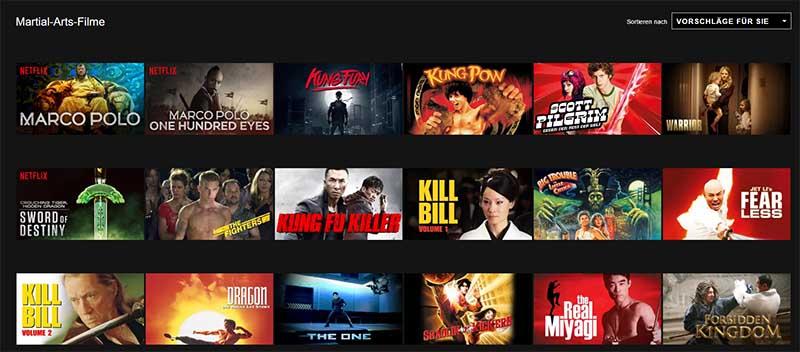 Netflix Genre