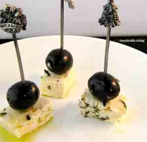 Greek Feta and Olive Appetizer
