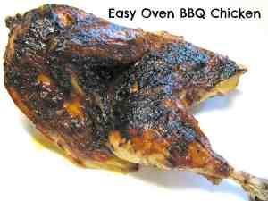Easy Oven Baked Chicken