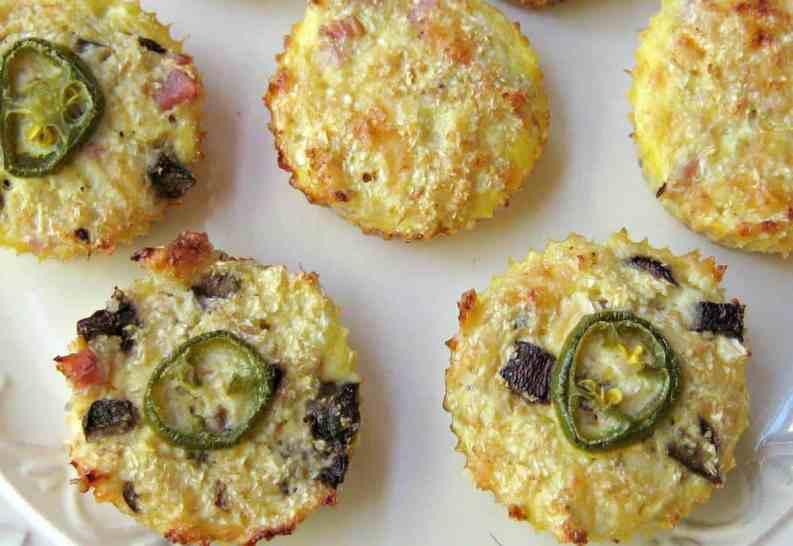 Cauliflower Breakfast or Snack Muffin