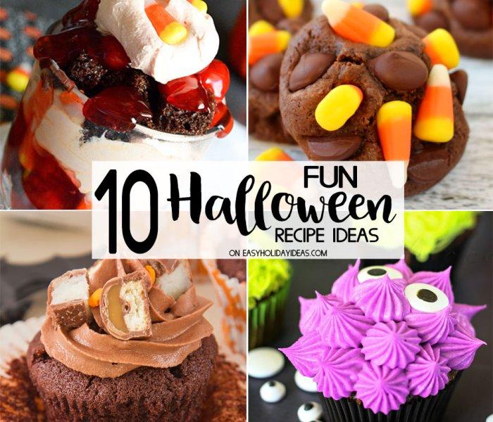 10 FUN Halloween Recipe Ideas
