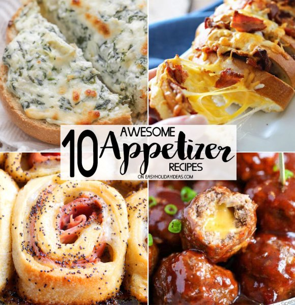 Awesome Appetizer Recipes