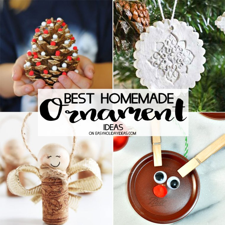 Best Homemade Ornament Ideas
