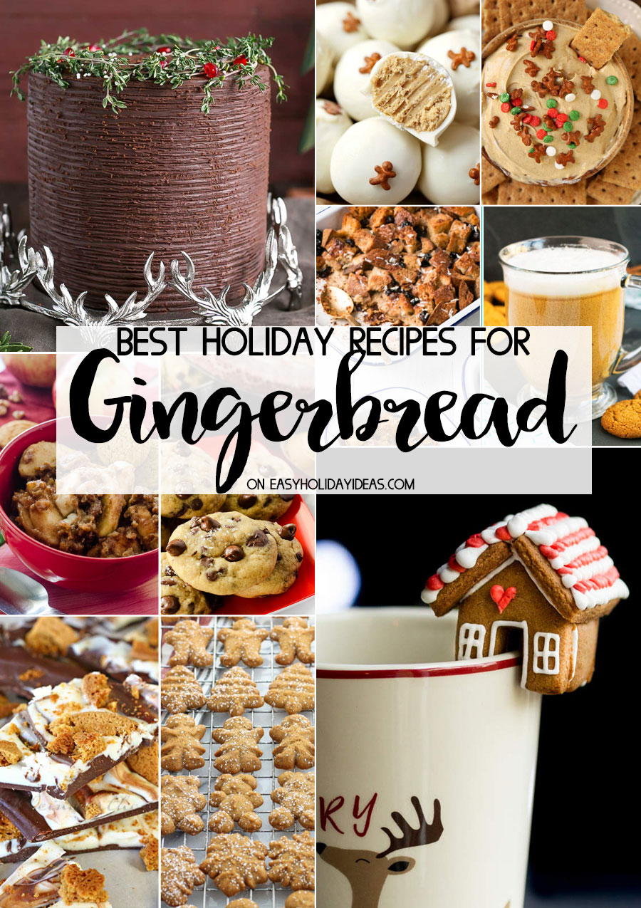 Best Holiday Gingerbread Recipes