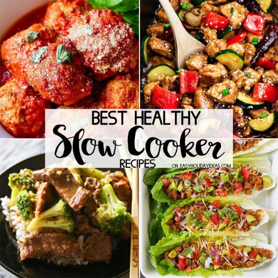 Best Healthy Slow Cooker Recipes