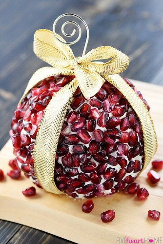 Christmas Ornament Cheese Balls