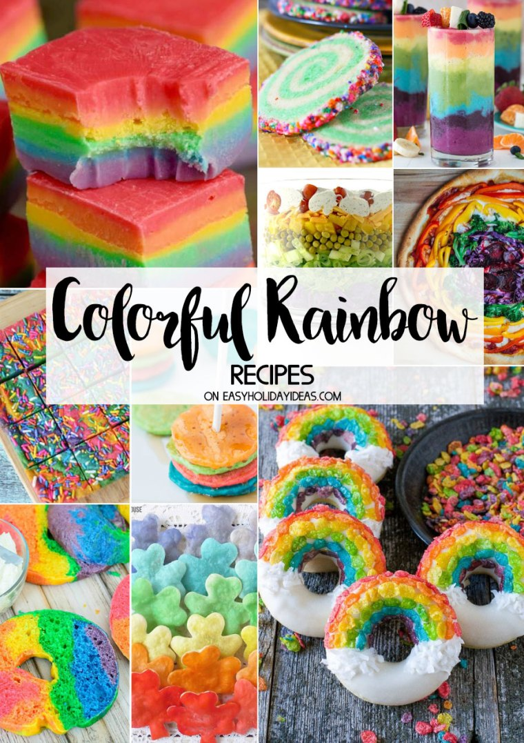 Colorful Rainbow Recipes