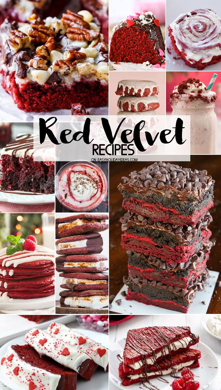 Red Velvet Recipes