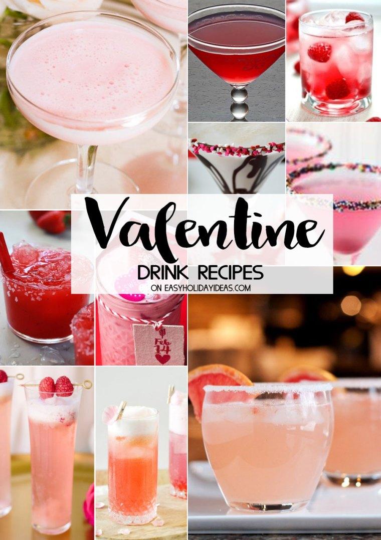 Valentine Cocktail Recipes: Amazing Valentine Drink Recipes