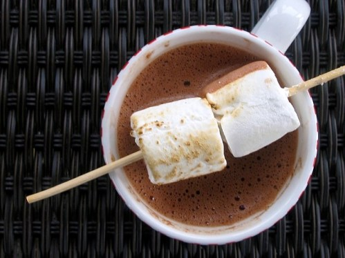 Salted Peanut Butter Hot Chocolate
