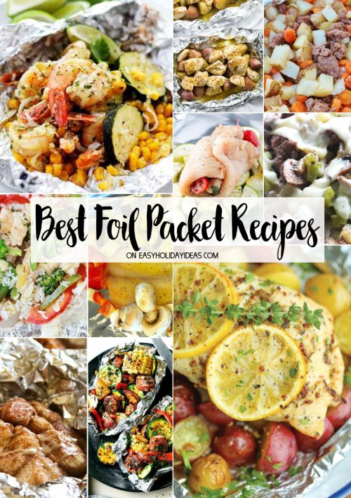 Best Foil Packet Recipes