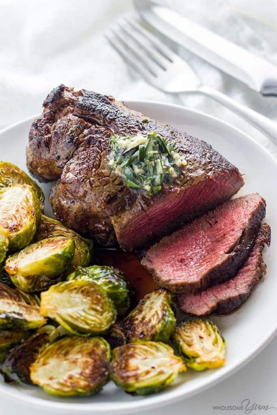 Learn how to cook the best filet mignon - pan seared in a cast iron skillet and finished in the oven. It's unbelievably easy and takes just 15 minutes!