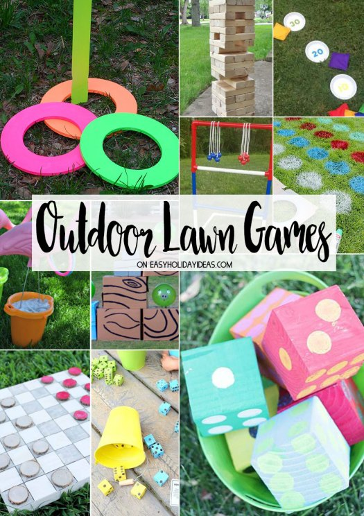 Outdoor Lawn Games