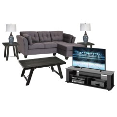 Living Room Package With Tv Small Scale Furniture Lease To Own Appliances Electronics And Computers From 8 Piece Fortunata