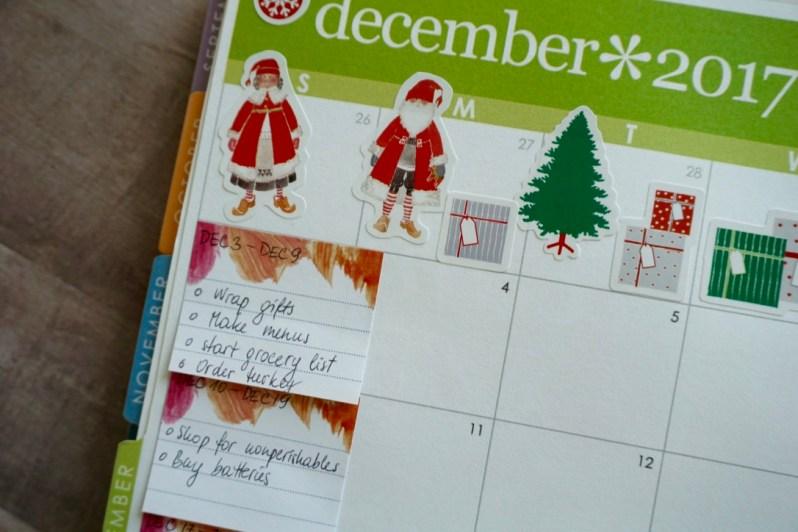 Planning December 2