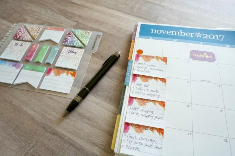 Planning November 1