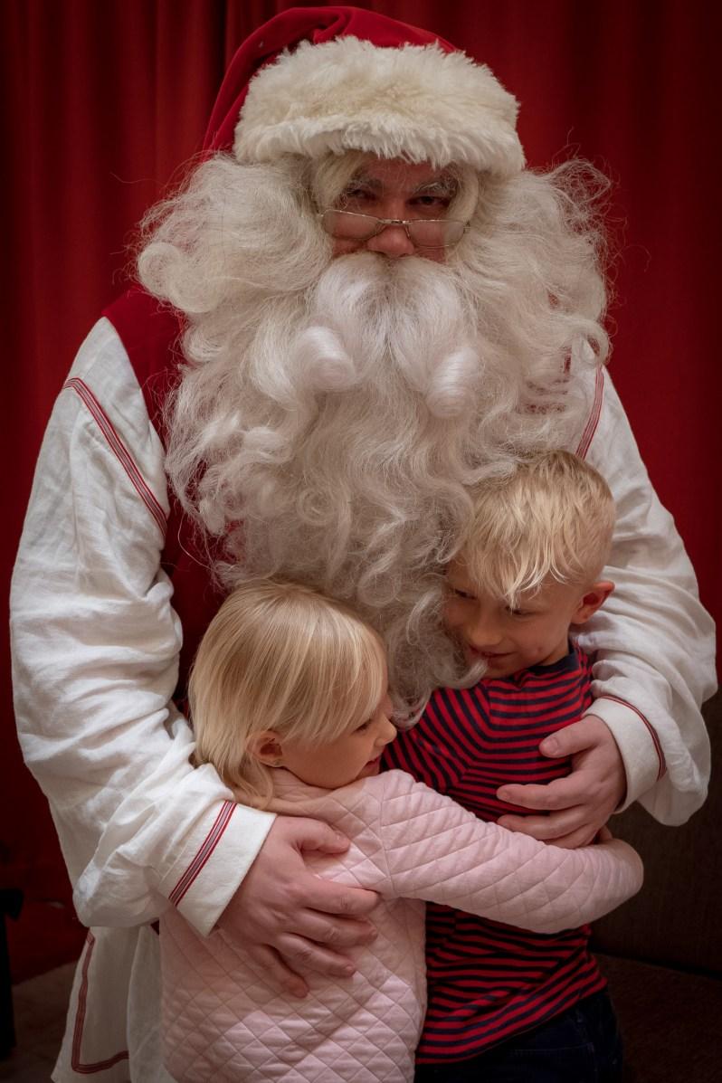 Santa Claus Village - meeting with Santa