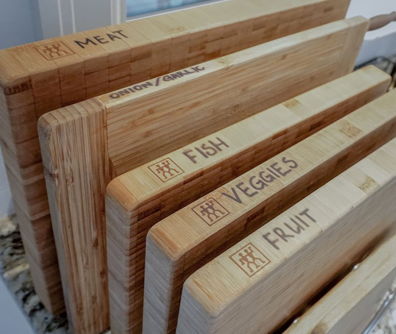 Zwilling bamboo cutting board