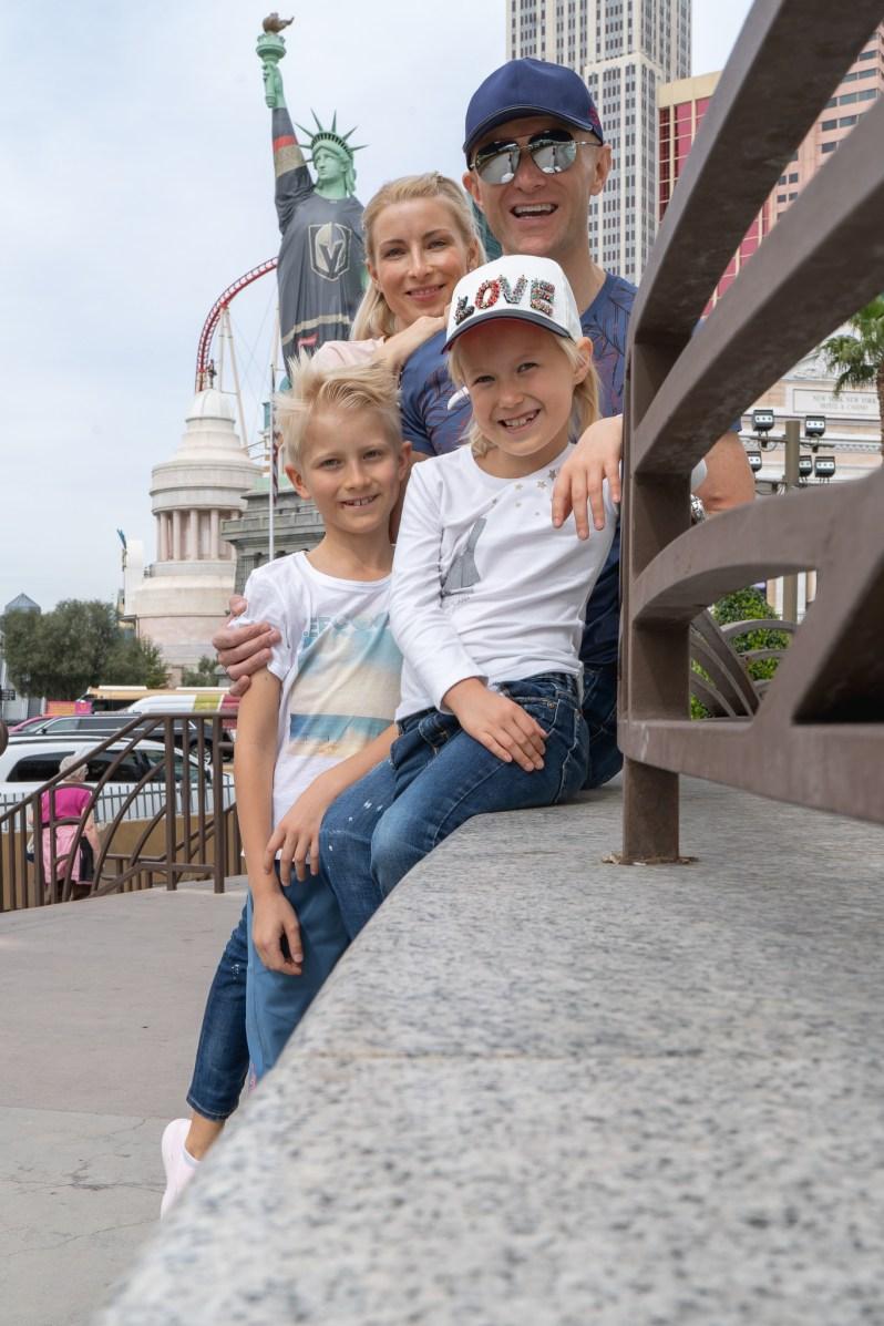 American family vacation - Las Vegas
