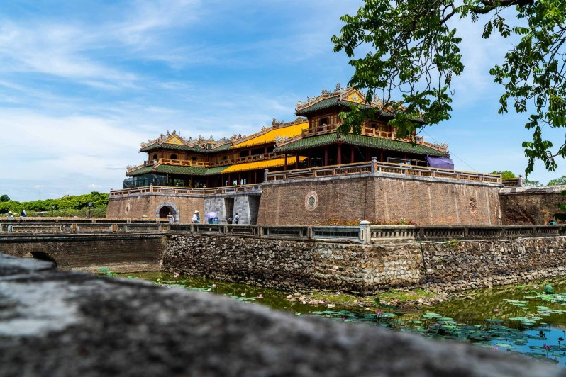 holiday in Vietnam - Hue Imperial City