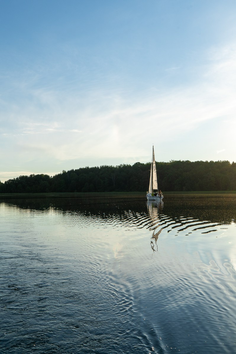 Sailing in Trakai