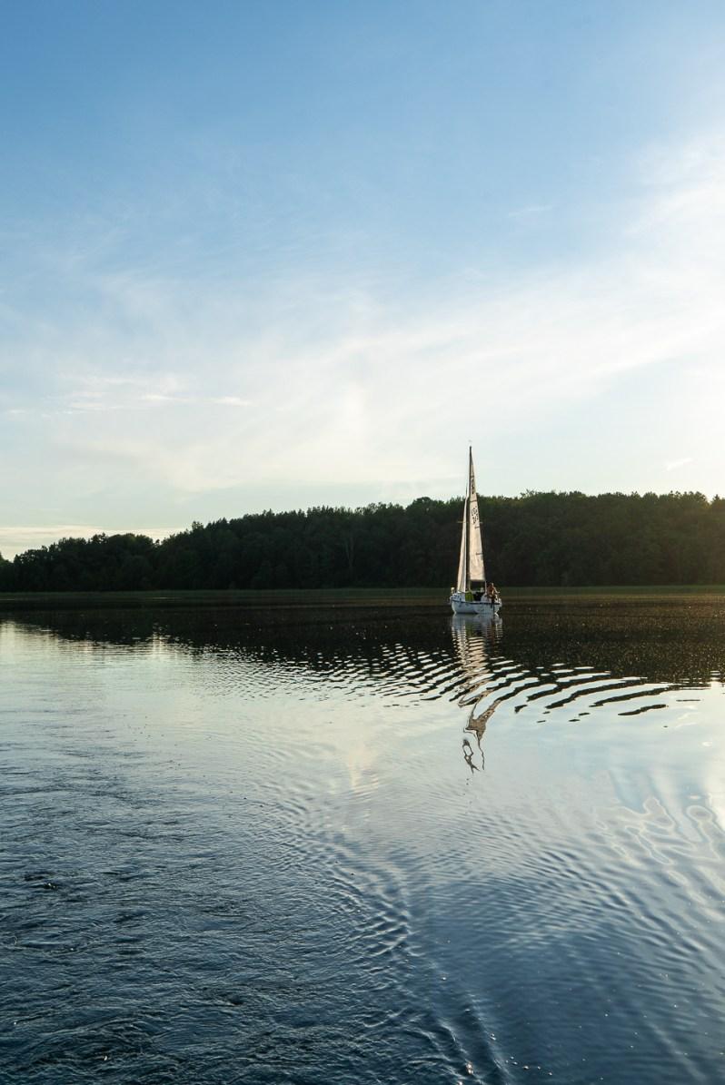 Sailing in Trakai