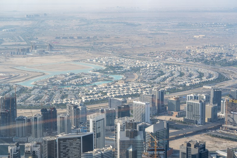 District One from Burj Khalifa