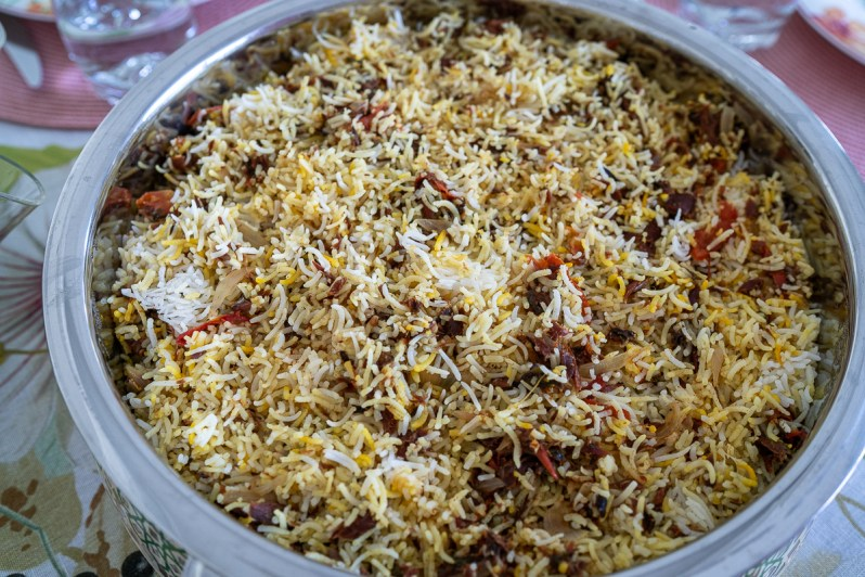 Biryani Maleh - traditional Emirati food