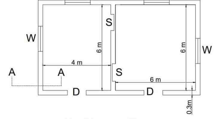 double room plan