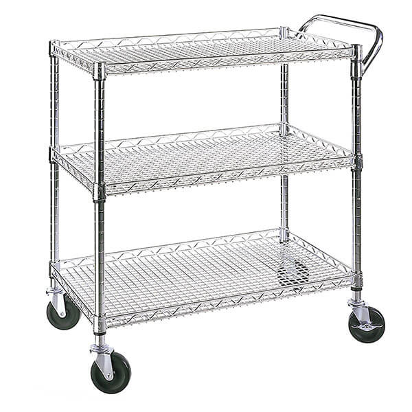 wire kitchen cart contemporary island carts easy home concepts seville classics all purpose