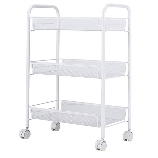 wire kitchen cart water faucet carts easy home concepts singaye white