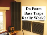 Do foam bass traps work?