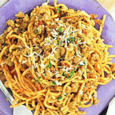 Instant Pot Spaghetti Meat Sauce